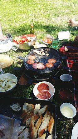What's For Dinner? Raclette Sunday Summer