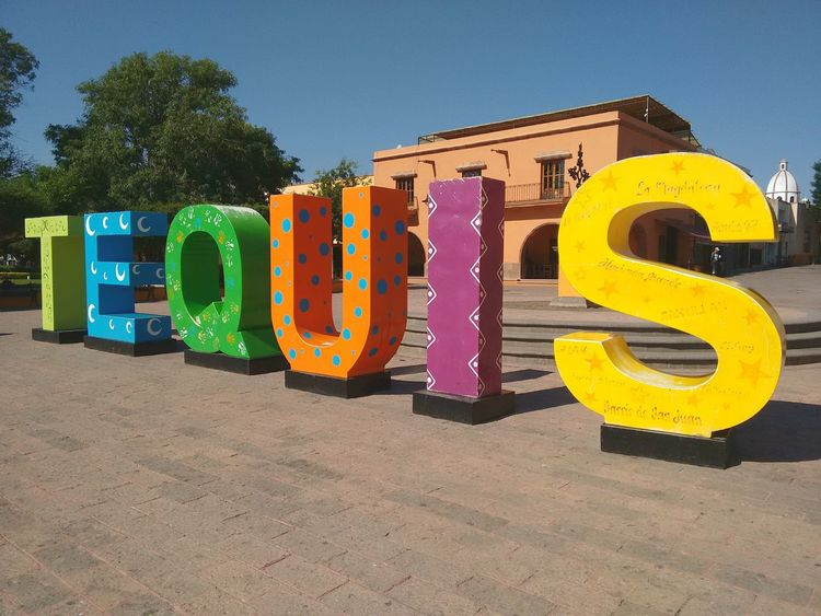 "Tequisquiapan ""Pueblo magico"" Queretaro Mexico. Multi Colored Alphabet Outdoors No People Day Best Eyem Photo Mobile Photography Mexico First Eyeem Photo Moto G 2nd Gen. Travel Destinations The Street Photographer - 2017 EyeEm Awards"
