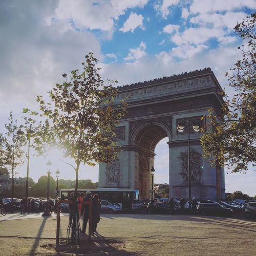 L'arc De Triomphe Paris Parisjaitaime Monument Travel Destinations IPhoneography