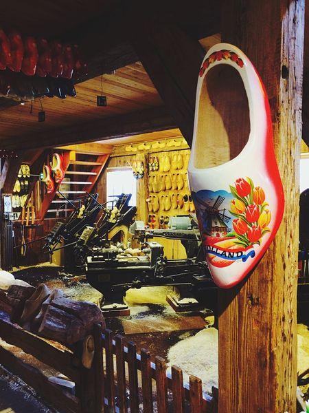 Inside of clog factory. Holland Neatherlands Clogs Clogs Factory Dutch House Dutch Wooden Photography First Eyeem Photo
