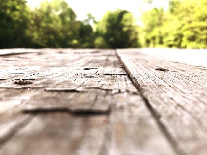 Wood - Material Selective Focus Plank Day No People Surface Level Textured  Outdoors Wood
