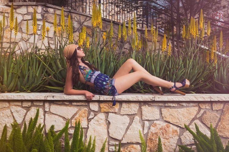 Urban Spring Fever Fashion Texas Spring Gilbert J. Photography Bohemian Relaxing San Antonio Riverwalk