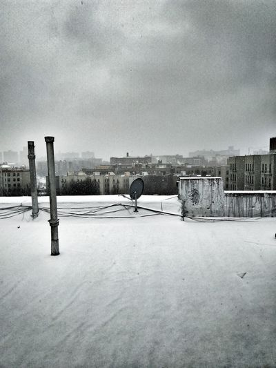 Snow day Snowfall New York City Bronx Cold Temperature Snow Winter Weather Frozen Sky Outdoors