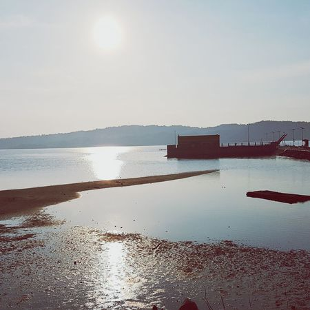 Early morning sun. Reflection Sky Outdoors Sea Tranquility Beauty In Nature Sommergefühle EyeEmNewHere