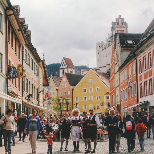 The smaller, the cosier Füssen, Bayern, Deutschland Old Town Traveling Travel Photography First Eyeem Photo