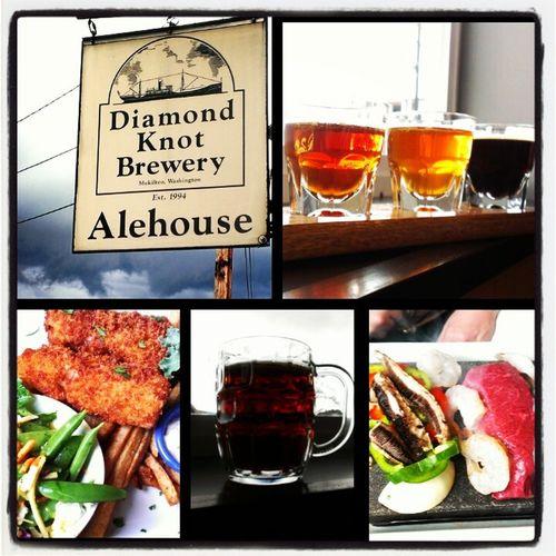 Beer Drinking Beer Brewery Diamond Knott Brewery