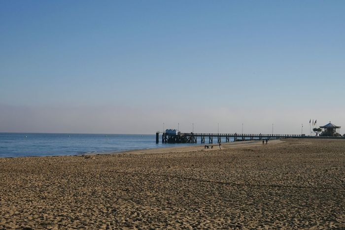 Ponton d' Arcachon Sea Beach Tranquility Tranquil Scene Sky Water Horizon Over Water Clear Sky Outdoors Beauty In Nature Nature Scenics No People Vacations No Filter The Purist (no Edit, No Filter) Nofilter Seascape Bassin D Arcachon Sea Front Seafront Sea And Sky Landscape