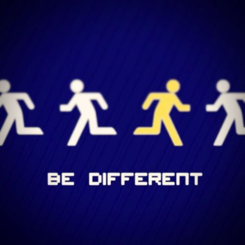 Different Is Better . ❤ BeDifferent <33  Different Indifference Indiferent Enjoying Life That's Me Heart ❤