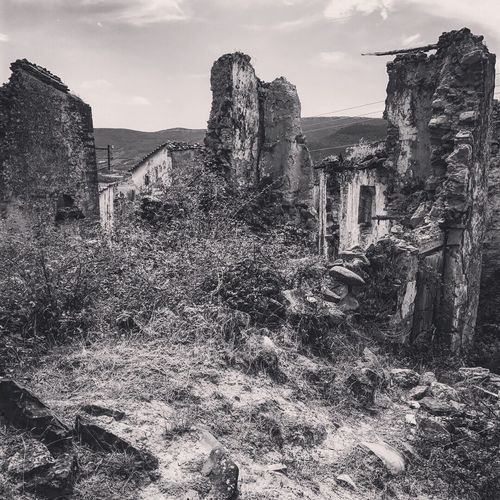 Old Ruin History Abandoned Architecture Bad Condition Built Structure No People