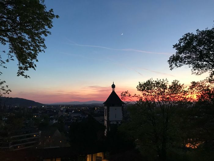 Sunset Freiburg