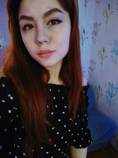 Redhead Looking At Camera Portrait One Person Young Adult Beautiful Woman Young Women