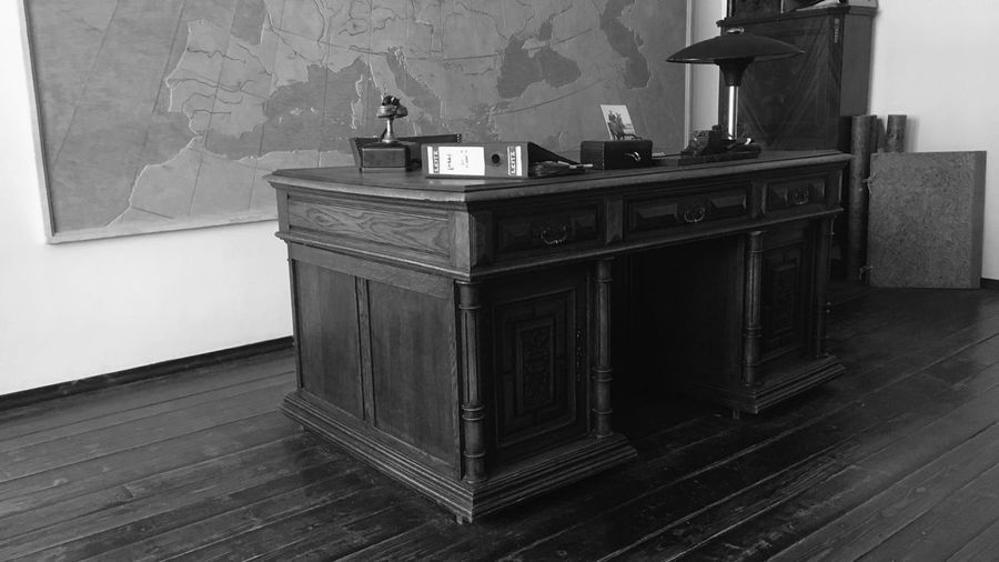 #schindler #office #krakow Schindlerfactory Auschwitz  Human Right Table Indoors  No People Home Interior