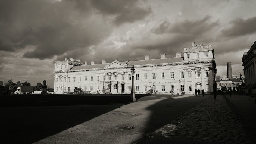 Greenwich Naval College London 21st Birthday! Black And White