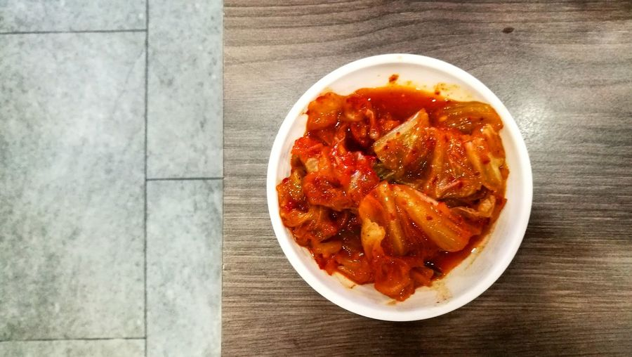 Kimchi♥ Kimchi Bowl Kimchi Time Plate Food And Drink Ready-to-eat Food No People Healthy Eating Bowl Indoors  Freshness Day