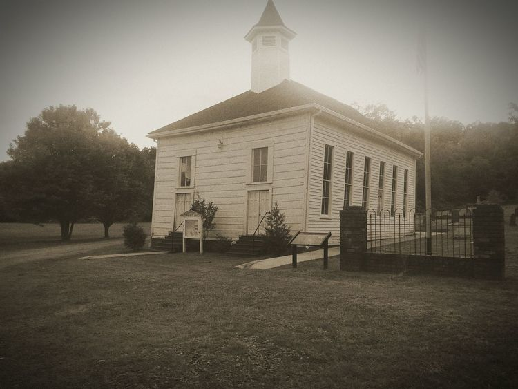 Church Historical Landmark Black And White Black & White My Next Door Neighbor