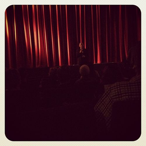 Director Phil Grabsky introducing TheBoyMir thanks @cinemanova