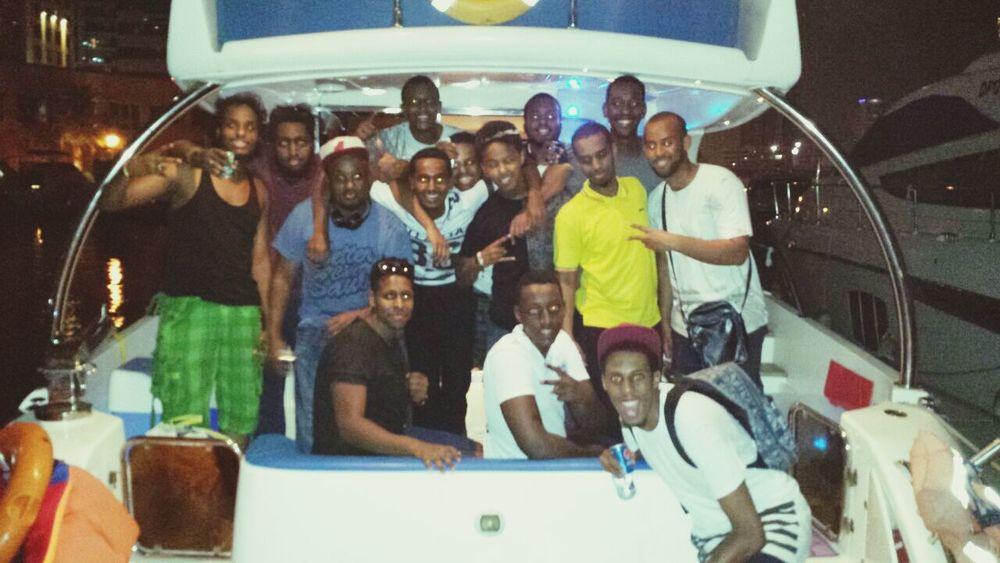 Squad I'm On A Boat Dubai2014 I'm The Captain Now