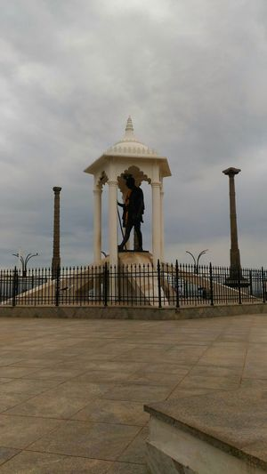 Gandhi Statue Gandhi Gandhiji Statue Pondicherry India Travel Wanderlust Outdoors Architecture