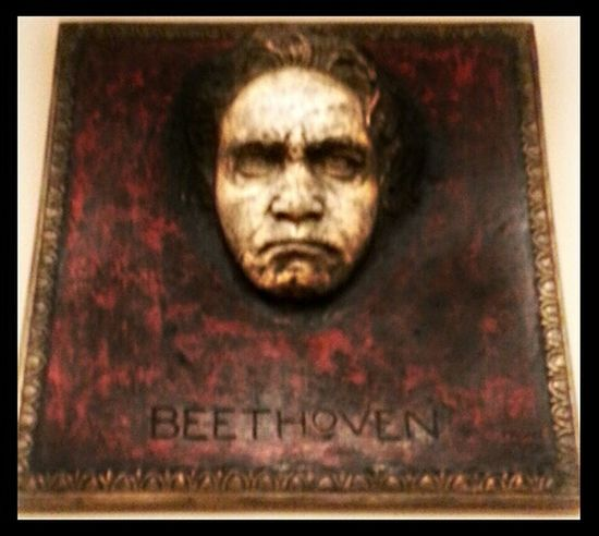 I was at the Minneapolis Institute Of Art and I saw this of Ludwig Van Beethoven I am unsure of the artist, just that he was German. Anyway this stopped me in my tracks. I love when art can do this. Art Gallery Mia