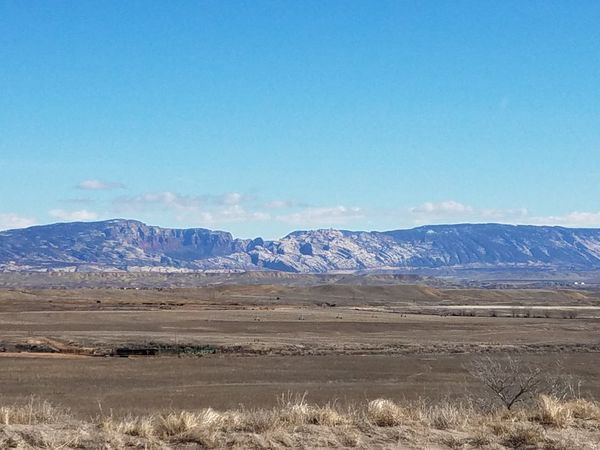 Blue Mountain Landscape Day Vernal, Utah