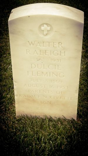 We briefly visited the National Cemetary near Point Loma today on our way back from the Cabrillo National Monument and Point Loma Lighthouse. This headstone caught my eye for his name. Then I noticed...it feels inappropriate to say happy birthday but maybe blessed be would be appropriate? Blessed Be Dulcie.