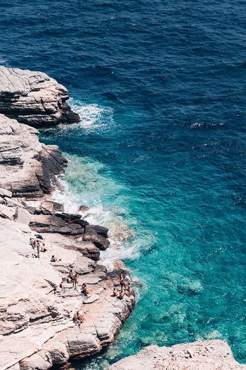 Sifnos, beach at krastro