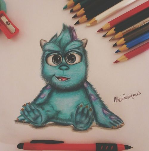 Draw Drawing Monster Nice