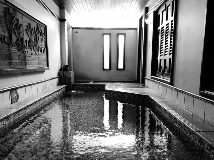 View on pool in Grand Lexis,Port Dickson Architecture Reflection Water Built Structure Wet Building No People