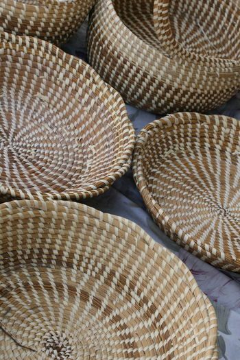 Basket Charleston Close-up Craft Gullah Intricate Reed Weave
