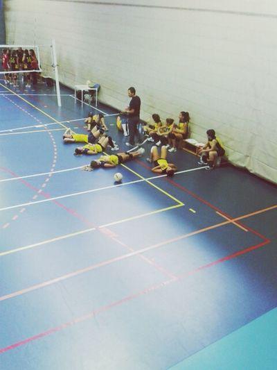 Volei Team Match Sport