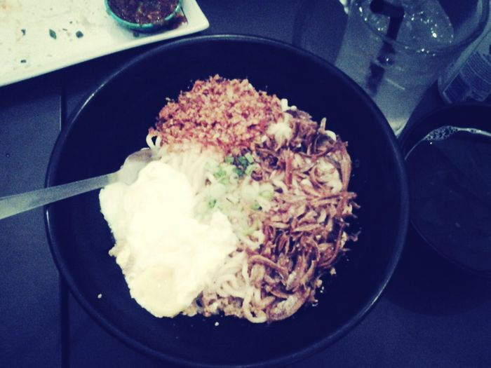 nice dried chili pan mee......hvg it with my frenz.....rrght now!!!!