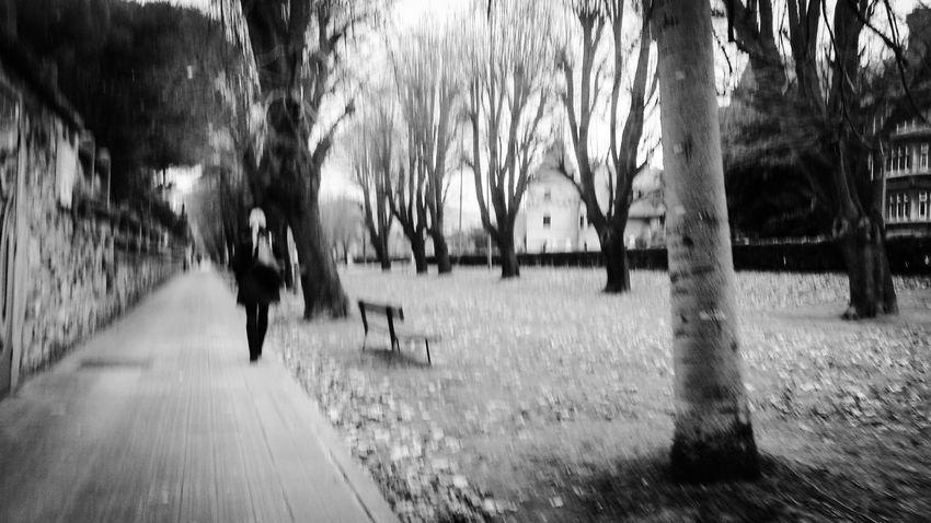 Vanishing Point Monochrome Blackandwhite Walking Eyem Best Shots - Black + White Bw_collection