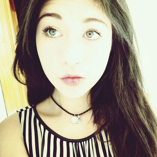 Green Eyes:3 Selfie ♥ Friday ✌ haha YOLO ✌