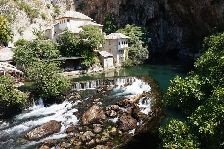 Old primary school Water Architecture Beauty In Nature Blagaj Bosnia And Herzegovina Balkans Wanderlust Travel Photography Travel Destinations