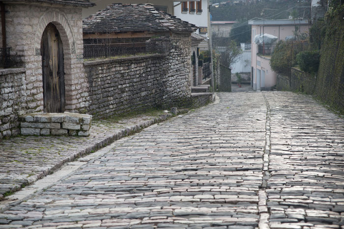 Albania Architecture Building Exterior Built Structure Day Gjirokaster Grass No People Outdoors