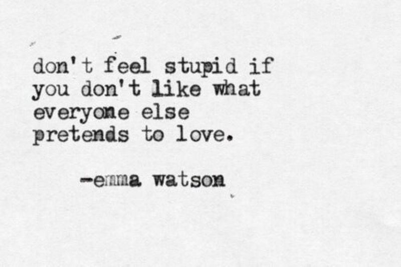 Quotes Emma Watson Smart Wise Words