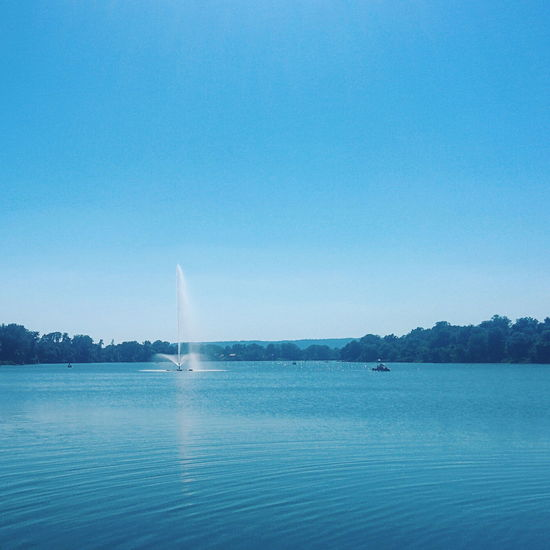 Beauty In Nature Blue Calm Clear Sky Day Idyllic Lake Majestic Nature Non-urban Scene Ocean Outdoors Remote Rippled Scenics Sea Seascape Sky Tourism Tranquil Scene Tranquility Travel Destinations Water Water Surface Waterfront Live For The Story EyeEm Ready