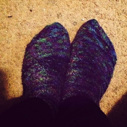 Fuzzy Socks Cuz Its Cold