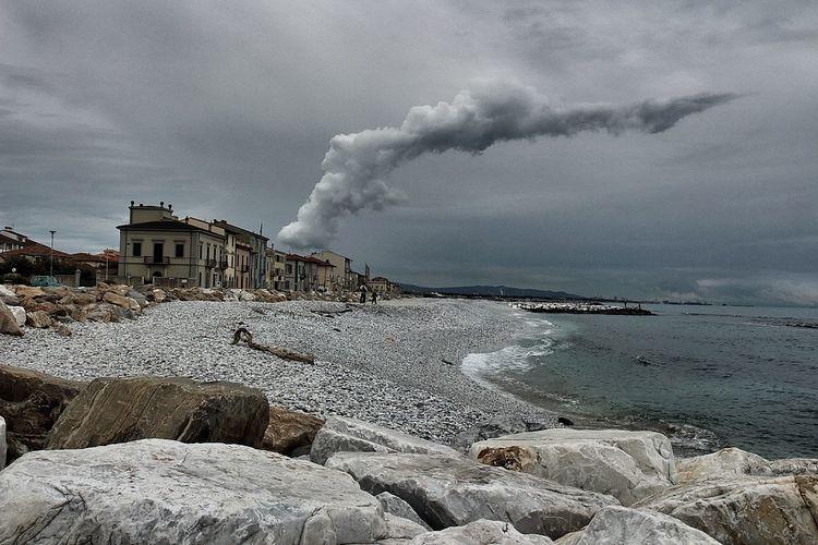 Beach Photography Costa Toscana Pier Sea And V Tirrenia Toscana Toscana ıtaly Tuscany Sea Winter Sea