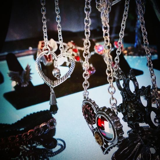 Jewelry Alchemy Gothic Crystal Jewelry Upclose