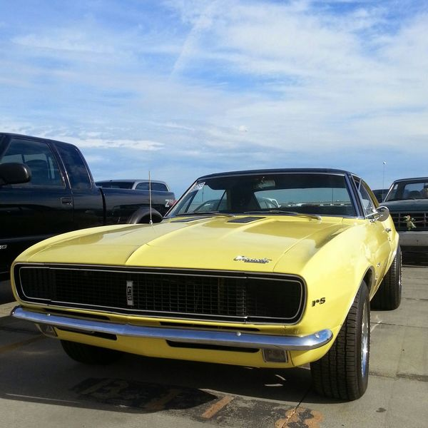 Check This Out Vintage Cars Classic Car Beautiful Chevrolet Camaro Something Yellow Salt Lake City Classic