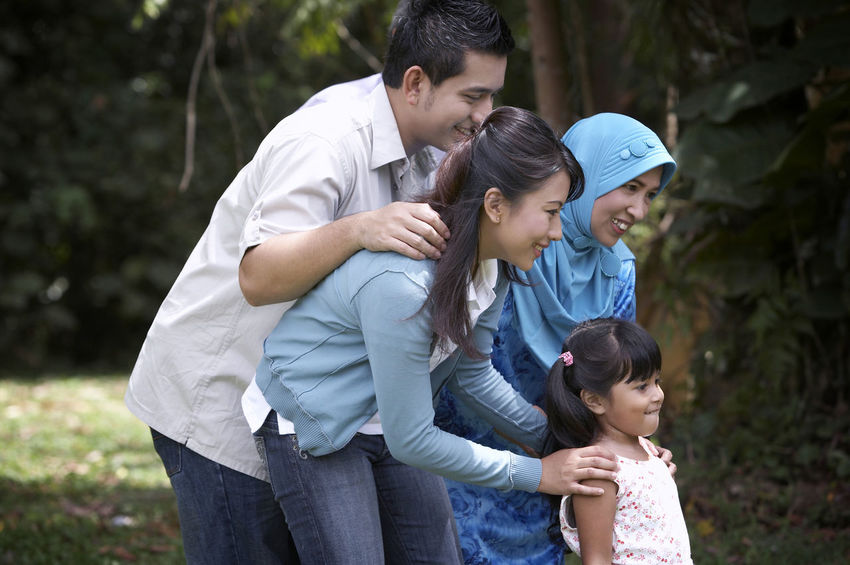 family spend time in the park Asian  Family Fun Grand Parents Grass Happiness Holiday Innocence Tree Bonding Casual Clothing Cheerful Elementary Age Family Portrait Front Or Back Yard Group Of People Leisure Activity Lifestyles Malay Parents Park - Man Made Space Portrait Senior Smiling Togetherness