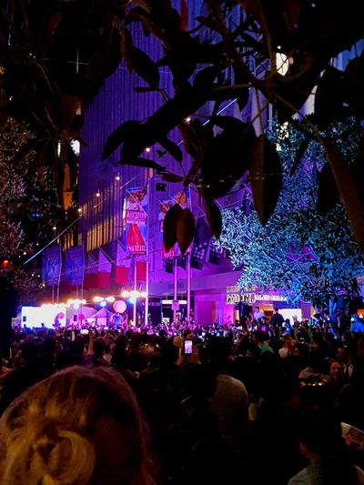 festival Melbourne City MelbournePhotographer Whitenightmelbourne Whitenight Arts Culture And Entertainment Performance Music Crowd Popular Music Concert Night Stage - Performance Space Large Group Of People Illuminated Fun Celebration Stage Light Performing Arts Event Fan - Enthusiast Audience Nightlife People
