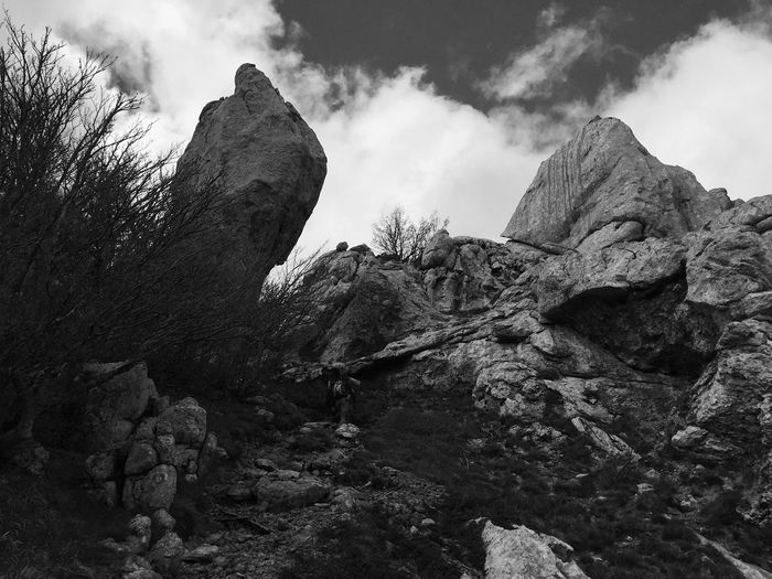Physical geography of Velebit, Croatia, 2017. | 6 Baske Ostarije Velebit Velebit Mountain Rock - Object Rock Formation Physical Geography Beauty In Nature Low Angle View Tranquil Scene Mountain Rock Scenics Tranquility Geology Landscape Travel Destinations Hiking