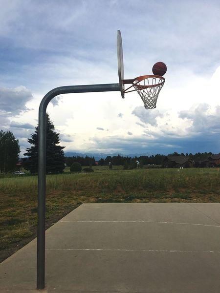 Sport Basketball Hoop Sky Court Basketball Leisure Games Outdoors Day