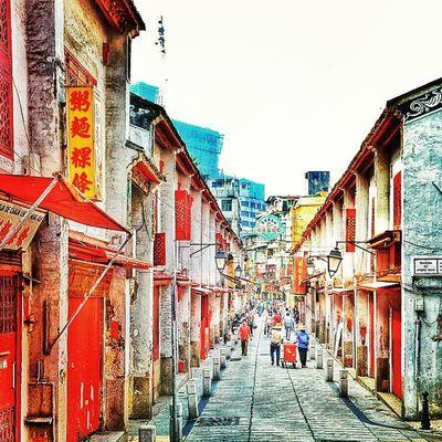福隆新街  澳門 Macau Travel