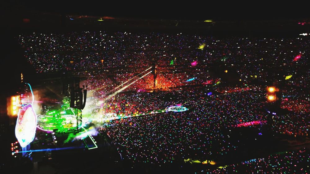 Coldplay in Paris Stadium Music Party Memories Light Colors Popular Music Concert Illuminated Nightlife Multi Colored Stage Light Performance Rock Music Arts Culture And Entertainment Crowd Music Music Concert Stage - Performance Space Live Event Concert Hall  Pop Rock Music Festival Concert Confetti Pop Musician Entertainment Event Performance Group Spotlight Pop Music Modern Rock