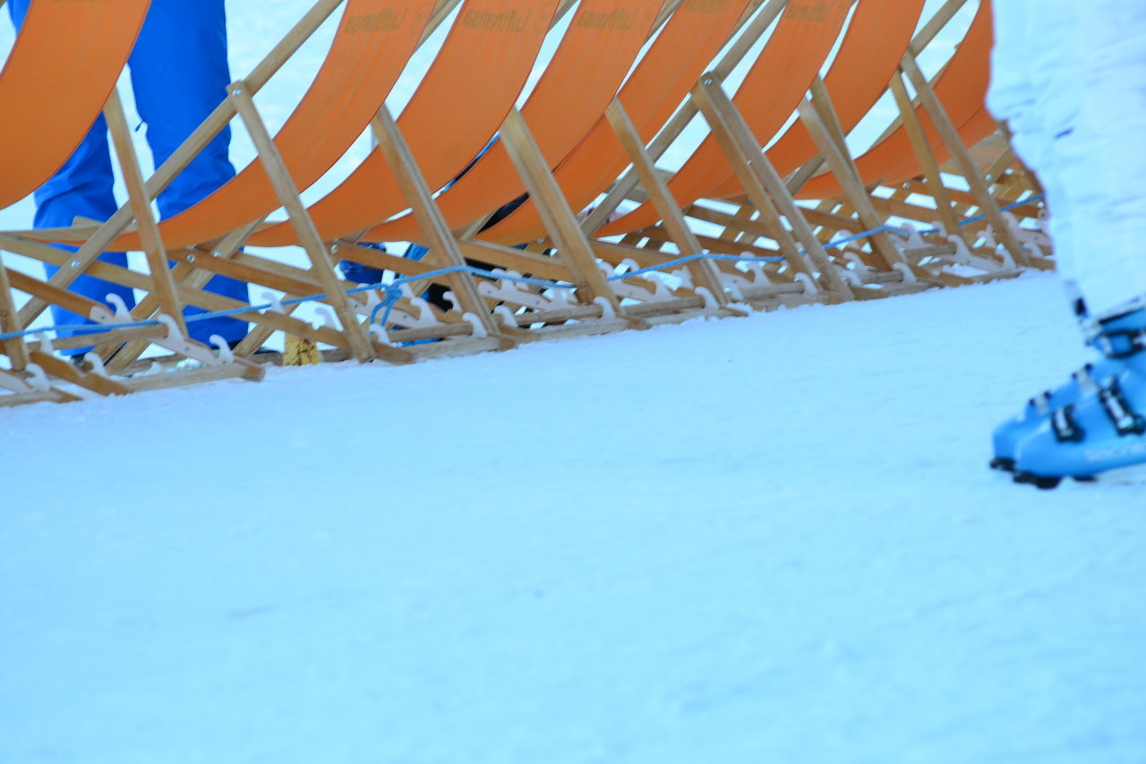 snow, cold temperature, winter, blue, no people, day, outdoors, built structure, close-up, architecture, nature