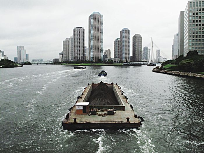 Building River Landscape Buildings Sand Earth A Ship Transporting Earth Take A Walk