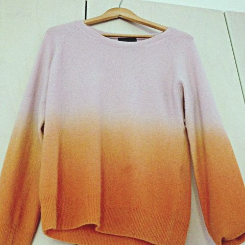 Ombre Sweater Sweater Weather Pink